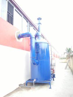 tháp hấp thụ xử lý khí thải