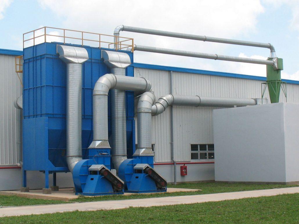 Kết quả hình ảnh cho nơi xử lý khí thải lò hơi
