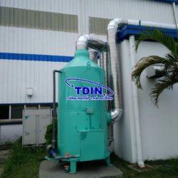 xử lý khí thải sơn