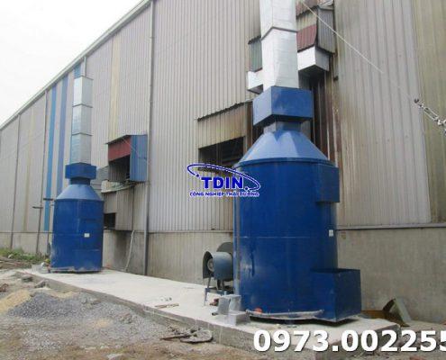 xử lý khí thải TDIN