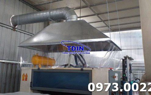 công trình xử lý khí thải